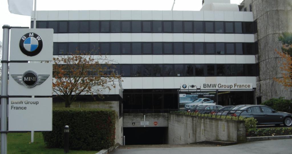 Siège BMW à Vélizy (78)