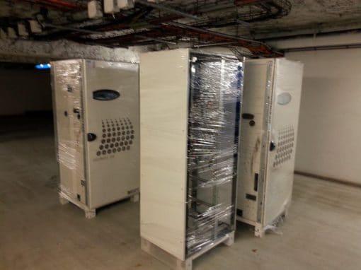 Démantèlement d'une installation électrique pour le groupe Kraft Foods